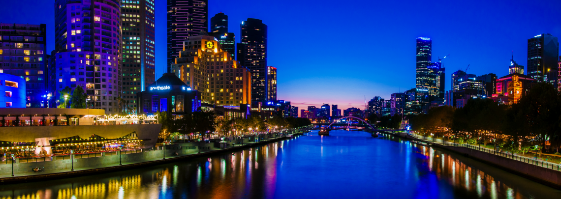 Getting There Melbourne Skyline